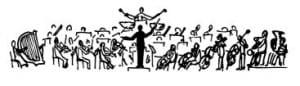 orchestra fumetto