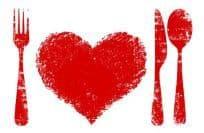 cuore cibo